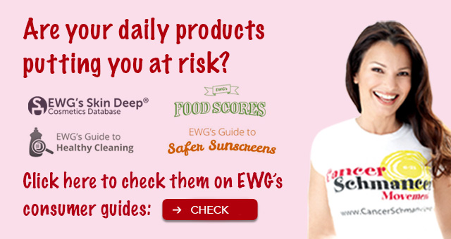 Are your daily products putting you at risk? Click here to check them in EWG's consumer guides.