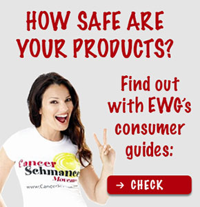 How safe are your products? Find out with EWG's consumer guides: Check
