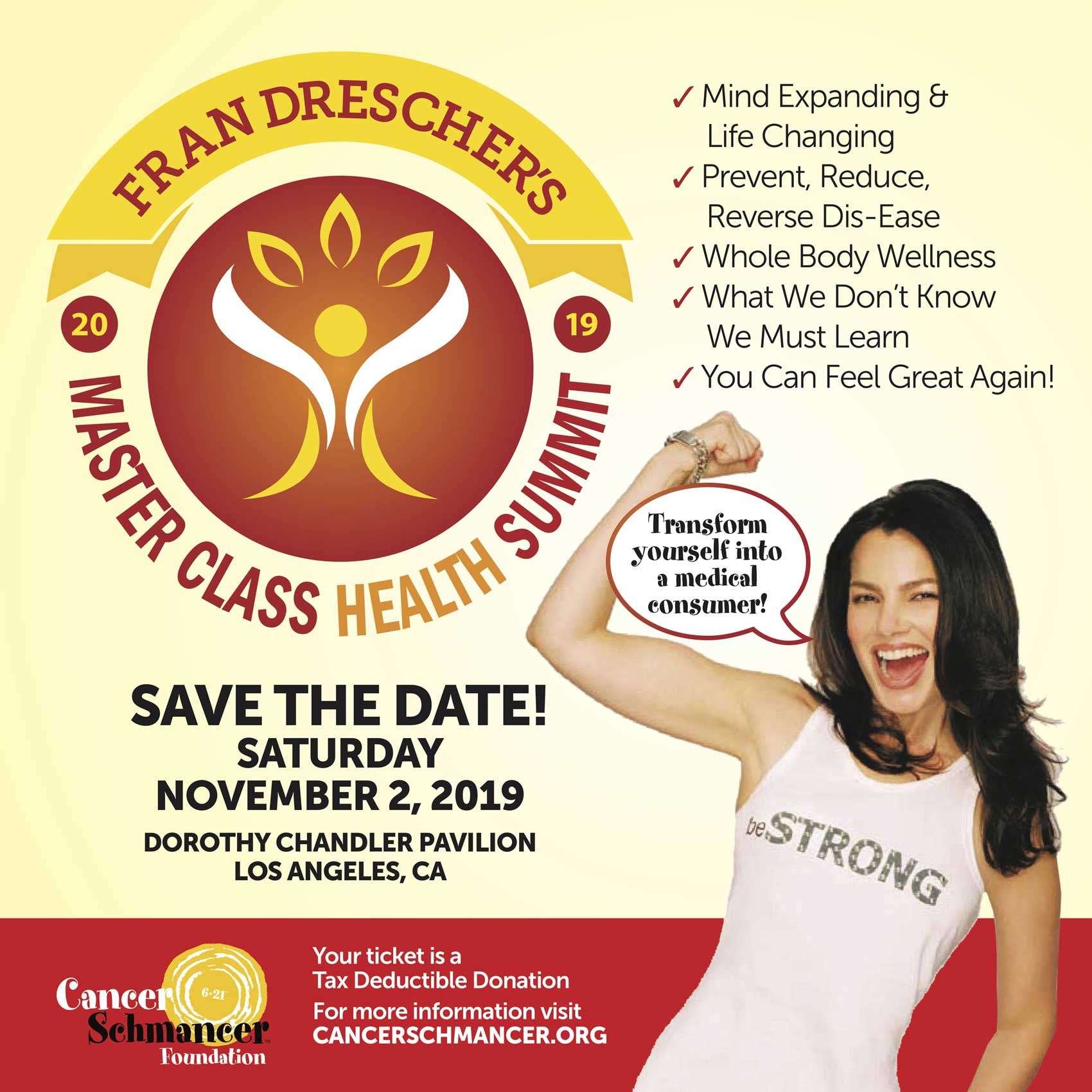 Fran Drescher's Health Summit 2019